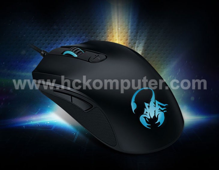 MOUSE GENIUS SCORPION M6-600 BLACK