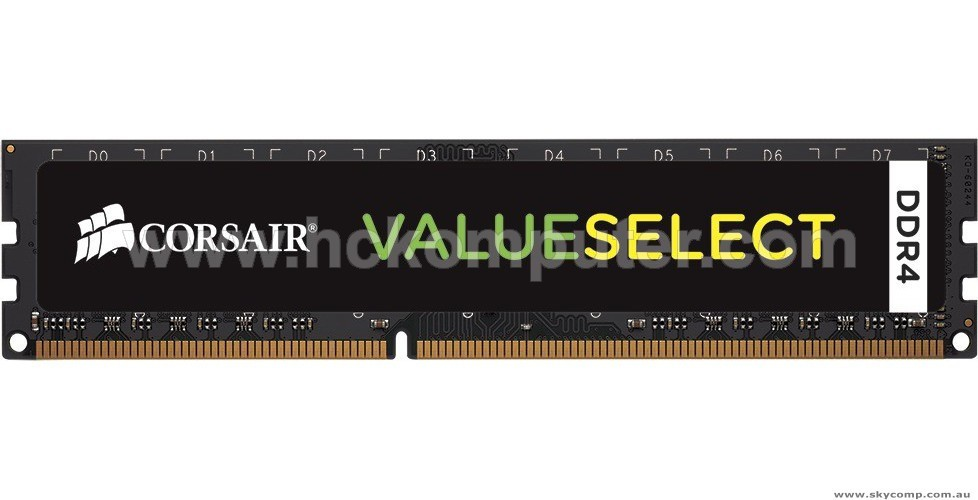 MEMORY DDR4 CORSAIR VALUESELECT 4 GB