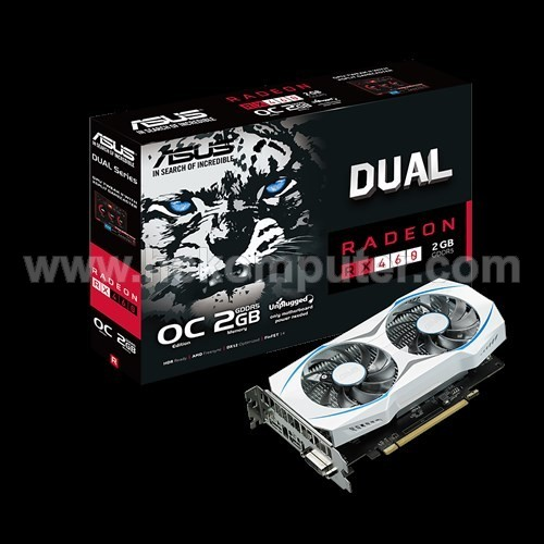 VGA CARD ASUS RX-460 2 GB DDR5 OC