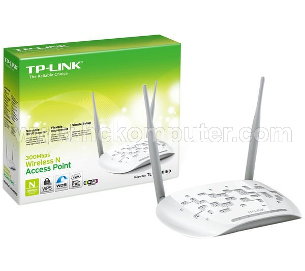 WIRELESS ACCESS POINT TP-LINK TL-WA801ND 300 Mbps