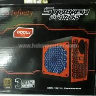 POWER SUPPLY INFINITY 600 W 80+