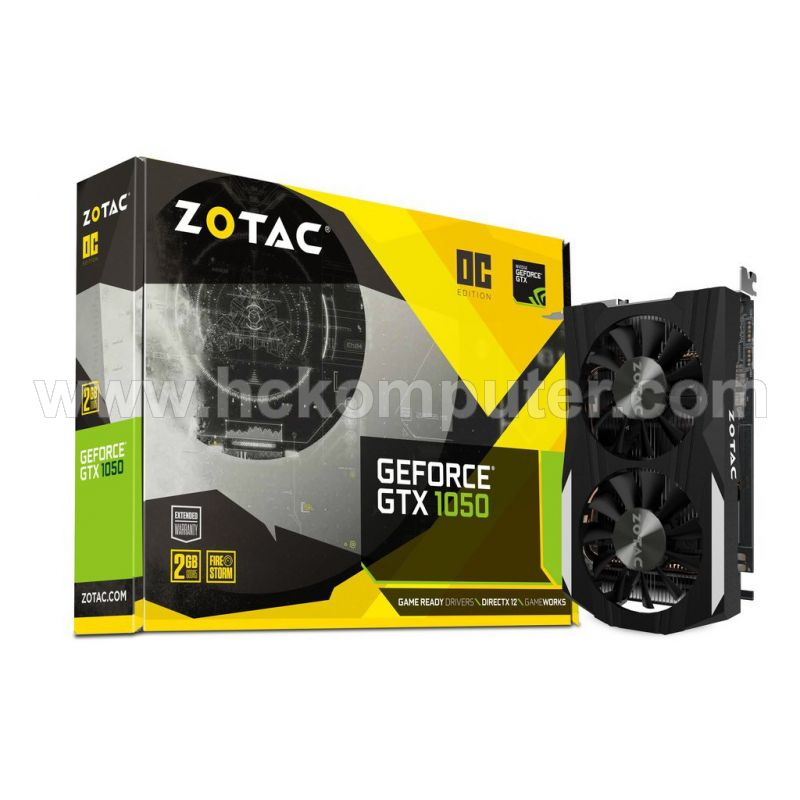 VGA Zotac GTX 1050 2GB DDR5 OC Dual Fan
