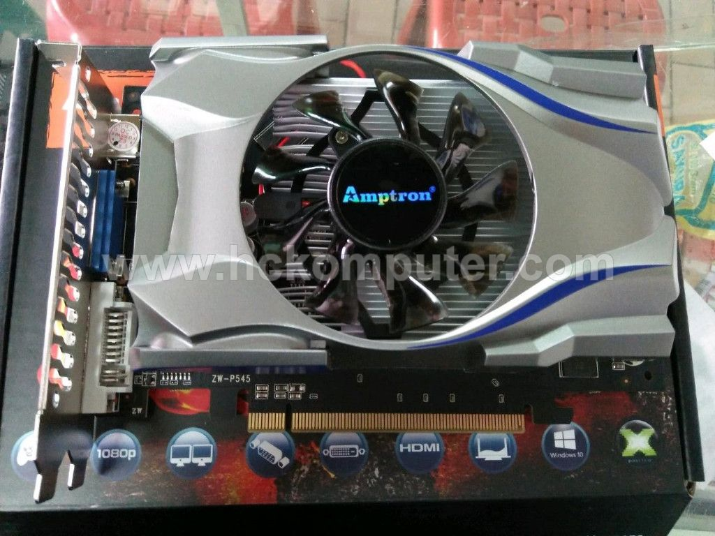 VGA CARD AMPTRON GT-730 2 GB DDR3 128 bit
