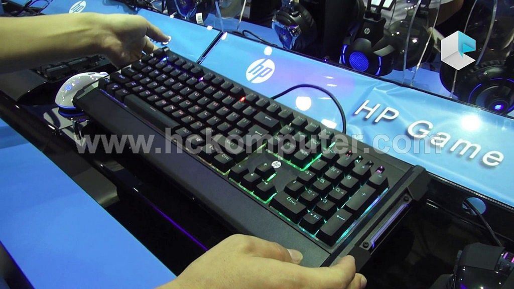 KEYBOARD GAMING HP GK300 MEKANIKAL