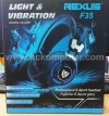 HEADSET REXUS F-35 (LIGHT & VIBRATE)