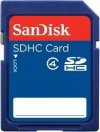 SANDISK SD-CARD  4 GB